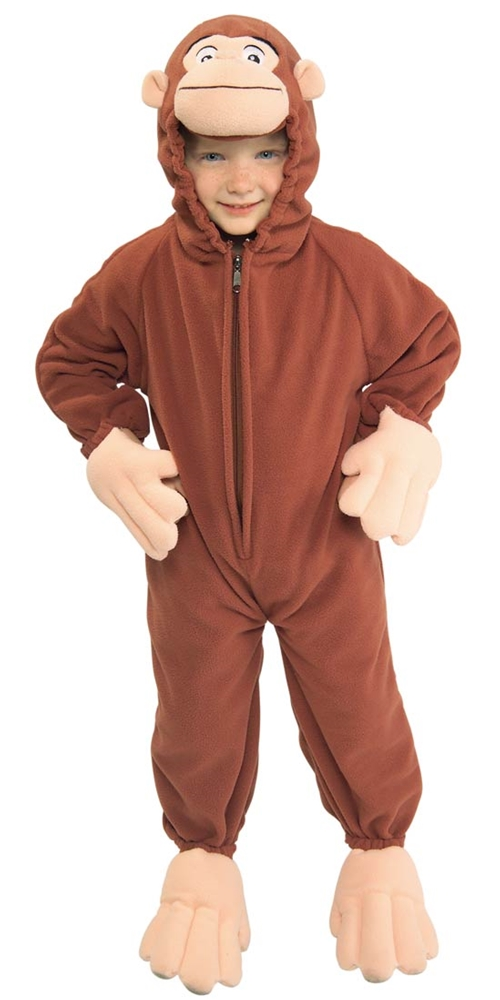 Curious George Toddler & Child Costume by Rubies