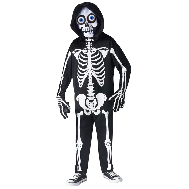 Купить Fright Light Skeleton Child Costume
