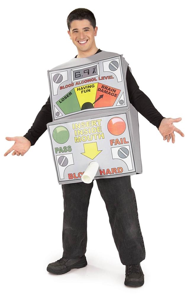 Breath Analyzer Adult Mens Costume