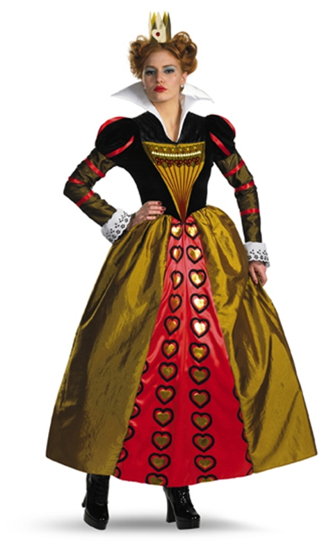 Red Queen Deluxe Movie Adult Womens Costume