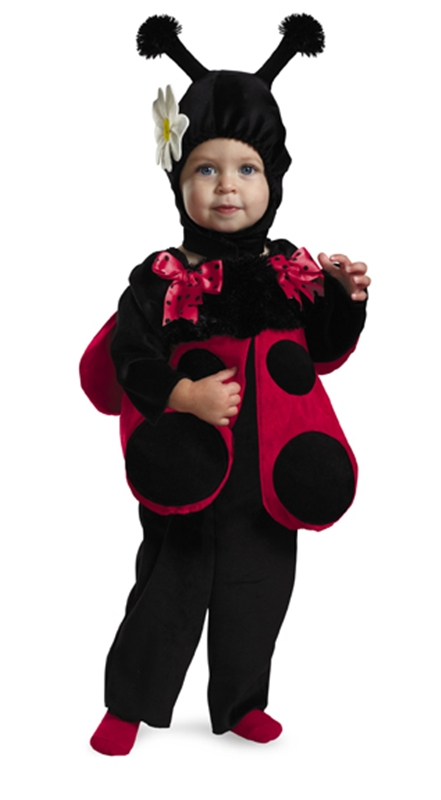 Lady Bug Fuzzy Costume by Disguise