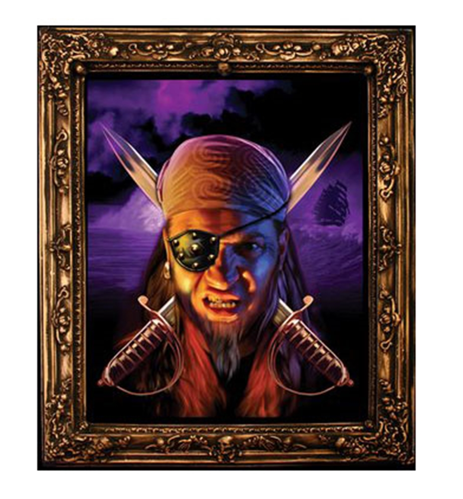 Image of Dreaded Pirate Lenticular Potrait