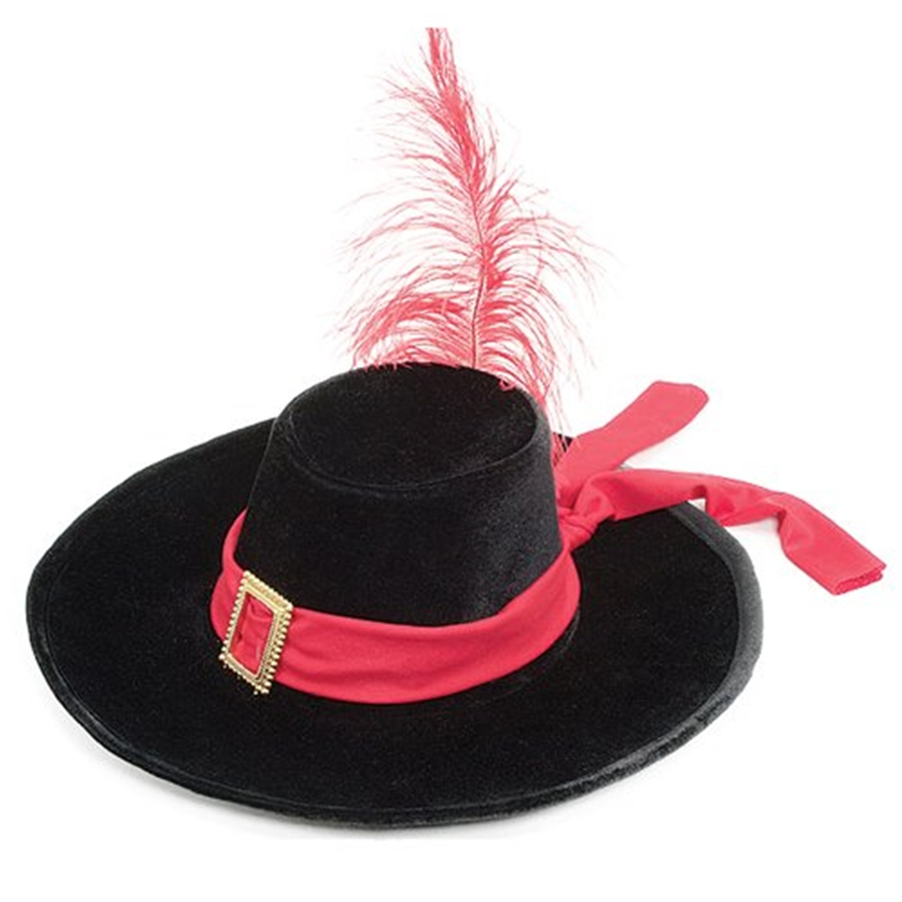 Velvet Musketeer Adult Hat (Adult Hats)