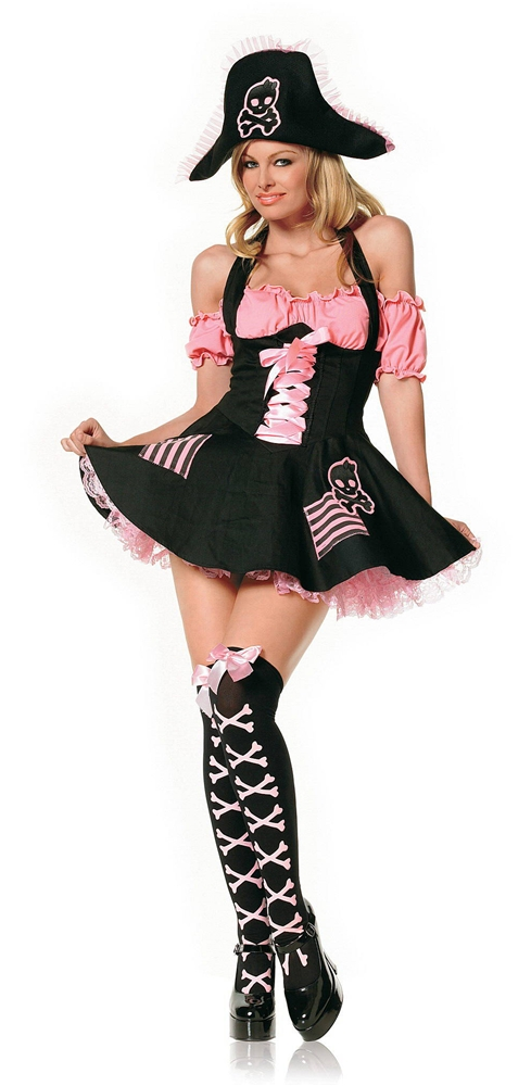 Treasure Hunt Pirate Adult Womens Costume