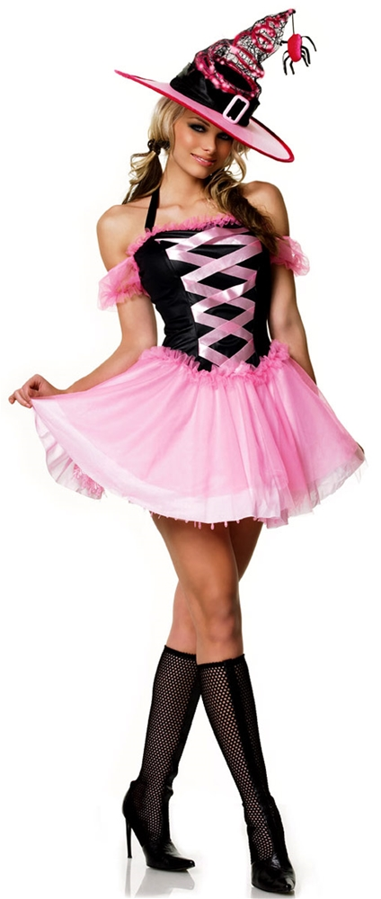 Pink Good Witch Adult Womens Costume