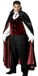 Gothic Vampire Plus Size Adult Mens Costume