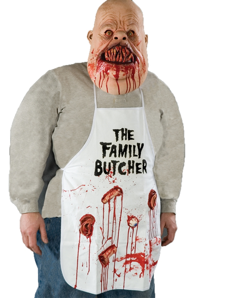 Gruesome Family Butcher Apron