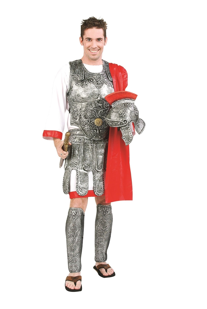 Deluxe Roman Gladiator Adult Mens Costume