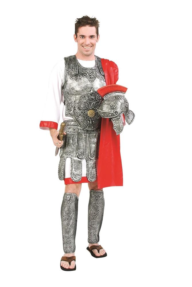 [Deluxe Roman Gladiator Adult Mens Costume] (Mens Gladiator Costumes)