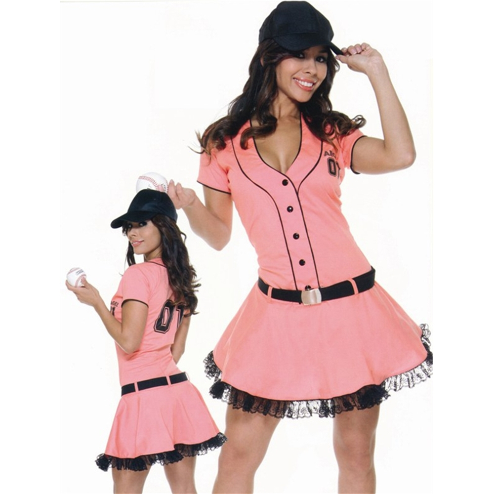 Homerun Hitter Adult Womens Costume