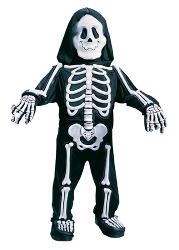3D Skeleton Child & Toddler Costume