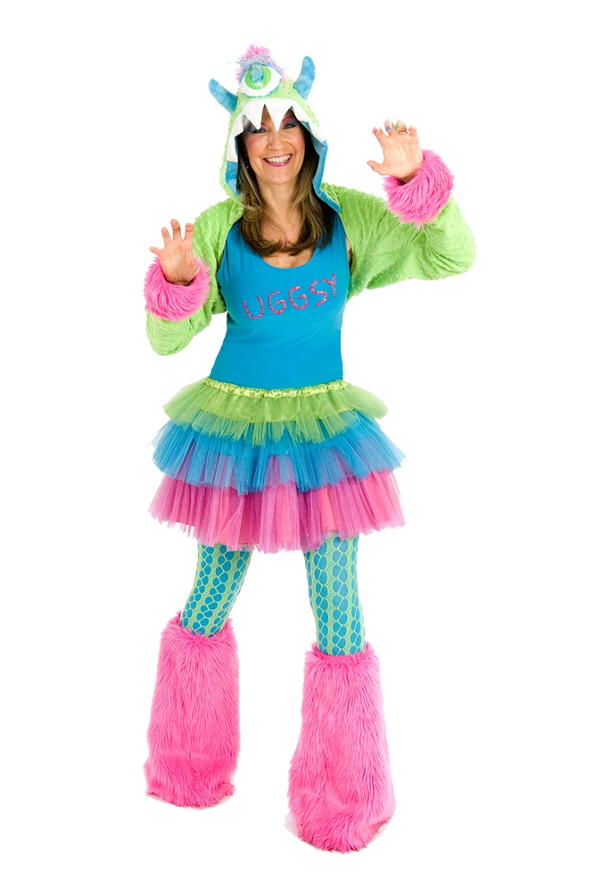 Uggsy Monster Set Womans Costume