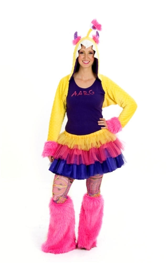 AARG Monster Adult Womens Costume by Princess Paradise