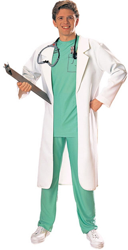 Lab Coat White Costume