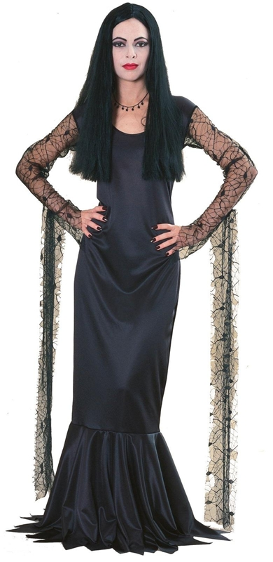 Deluxe Morticia Teen Costume