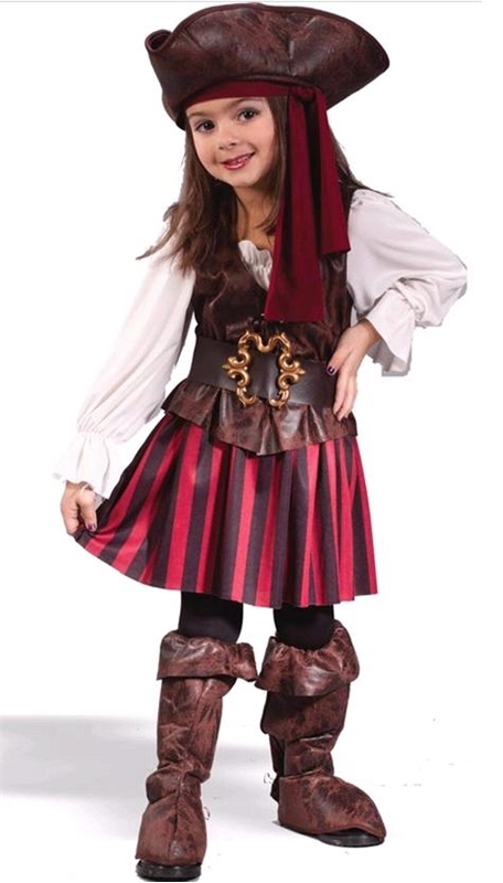 High Seas Buccaneer Pirate Toddler Costume