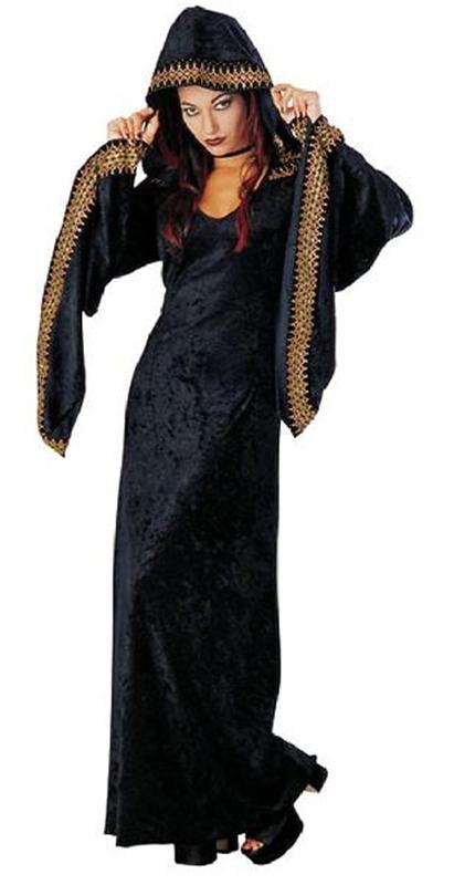 Image of Deluxe Midnite Priestess Costume