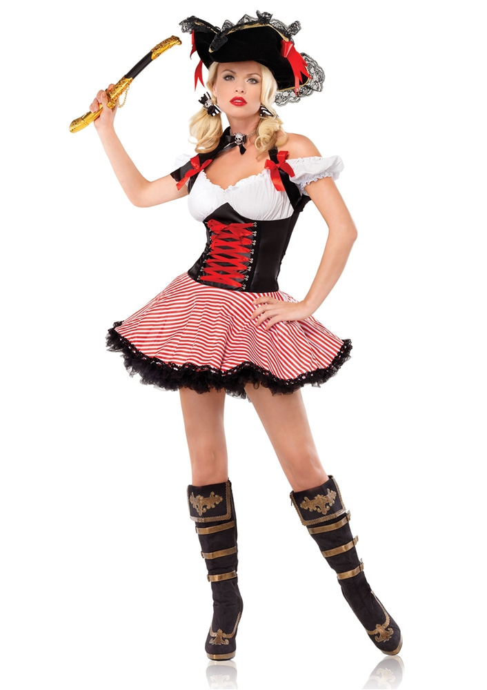 [Pirate Wench Adult Womens Costume] (Wench Womens Costumes)