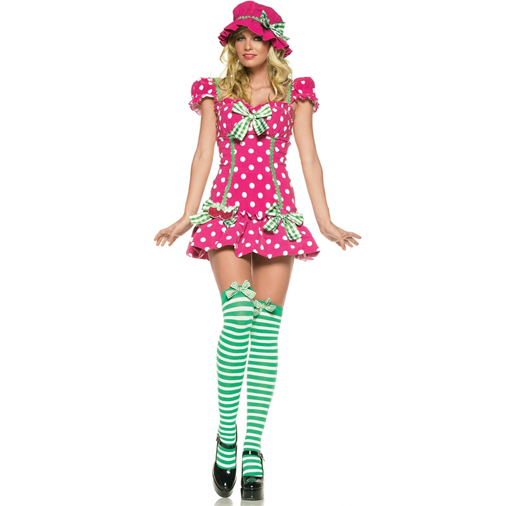 Rasberry Girl 3pc Costume