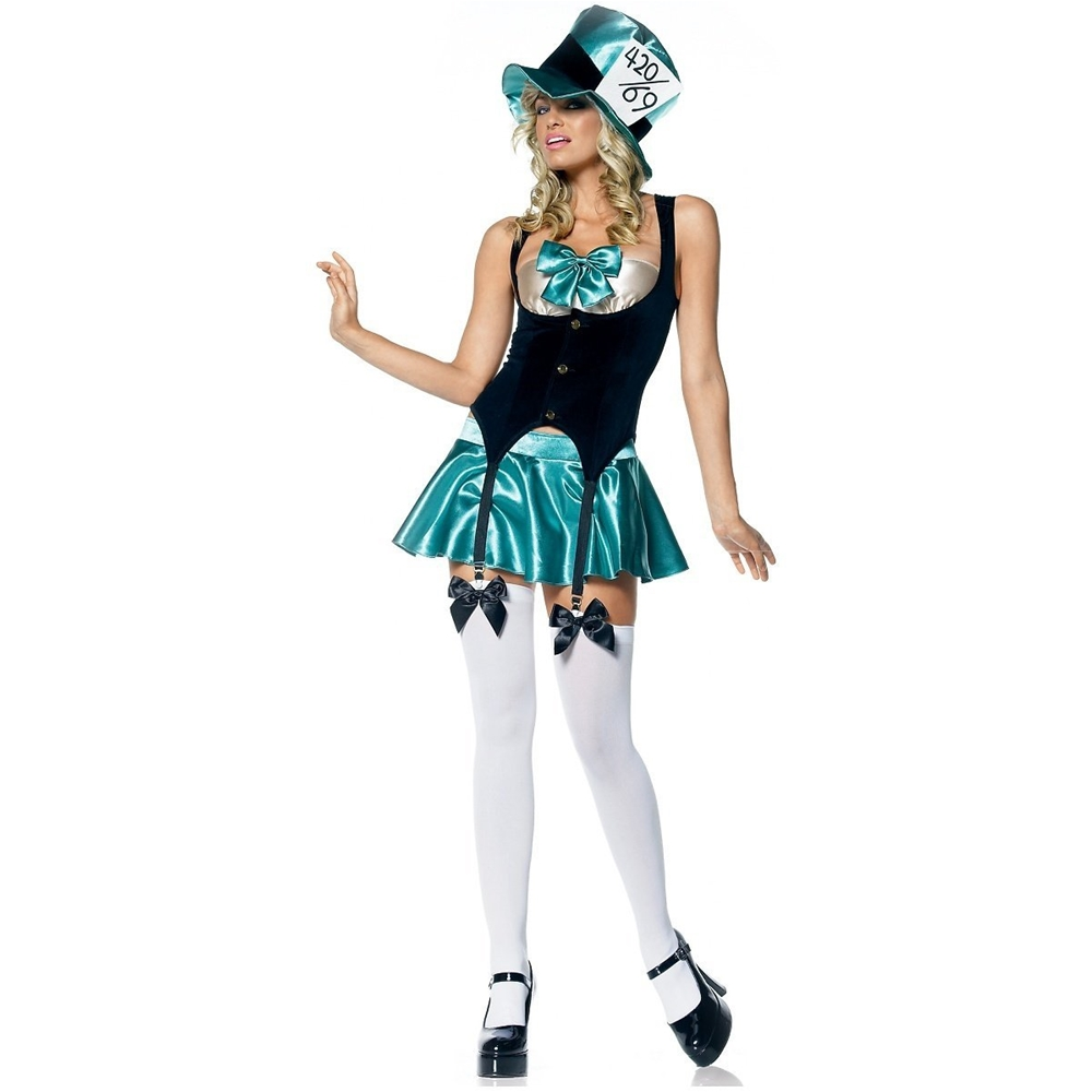 Sexy Tea Party Adult Womens Costume (Party Sexy)