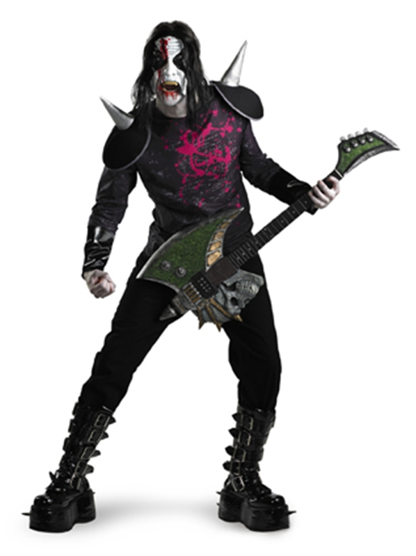 Metal Mayhem Rocker Adult Costume