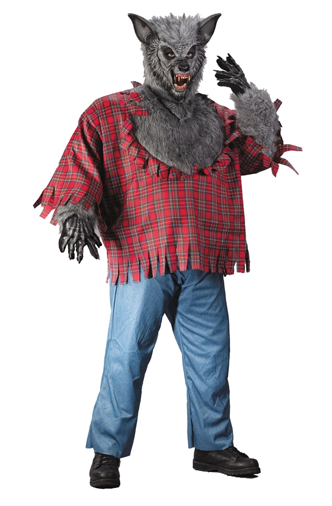 Werewolf Adult Mens Plus Size Costume