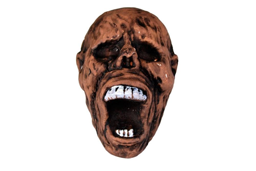 Brown Foam Mummy Head