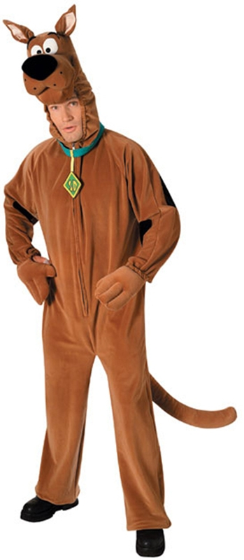 Scooby-Doo Plush Deluxe Adult Costume