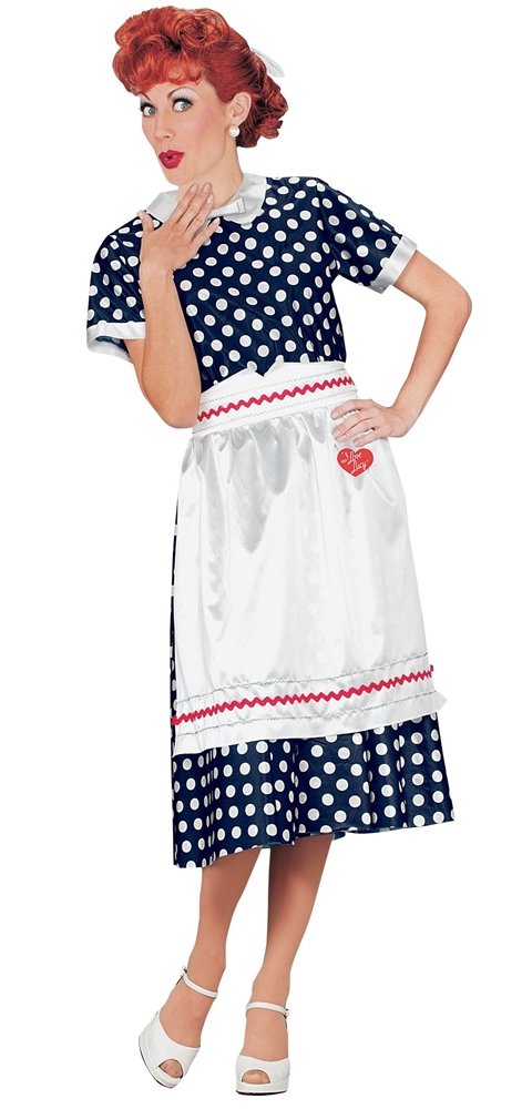 Lucy Polka Dot Dress Adult Womens Costume