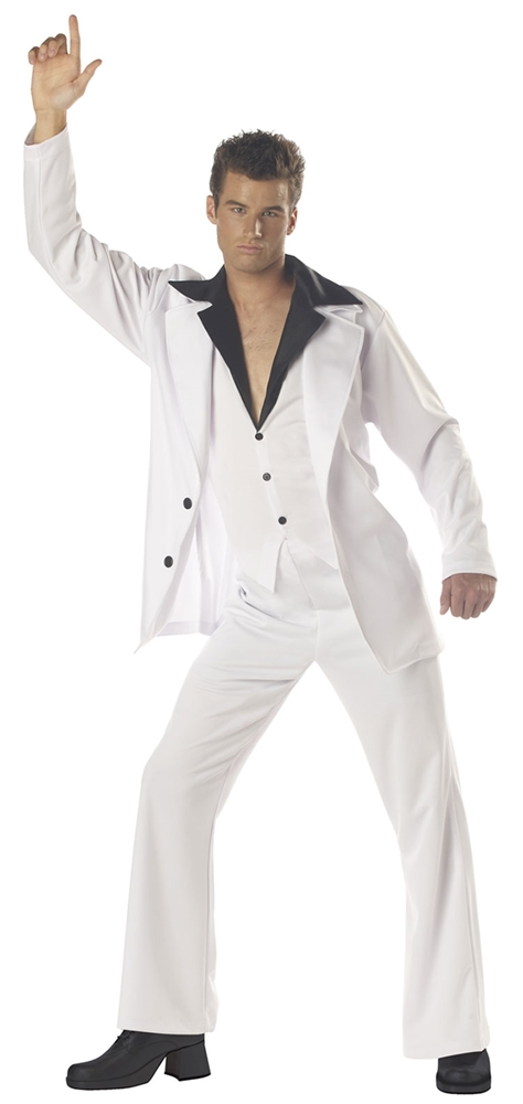Disco Dude Adult Mens Costume by California Costumes