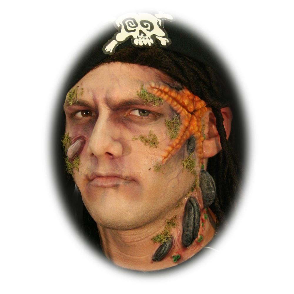 Damned Pirate Makeup Kit - 165833 : trendyhalloween.com
