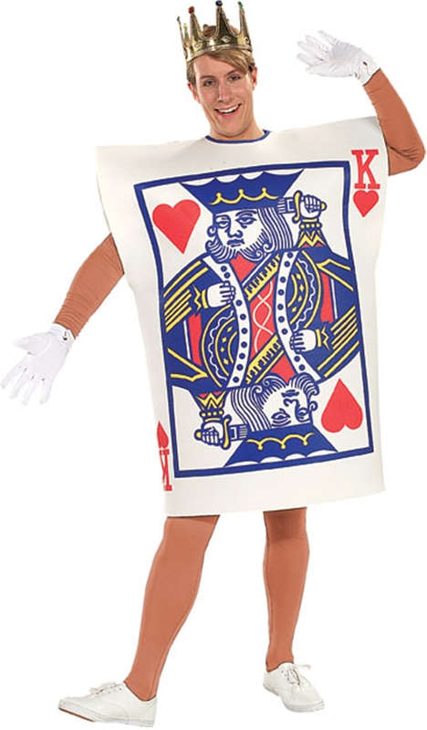 King of Hearts Card Costume by Rubies