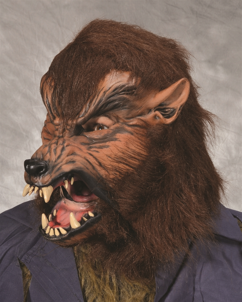 Howl-O-Ween Wolf Mask