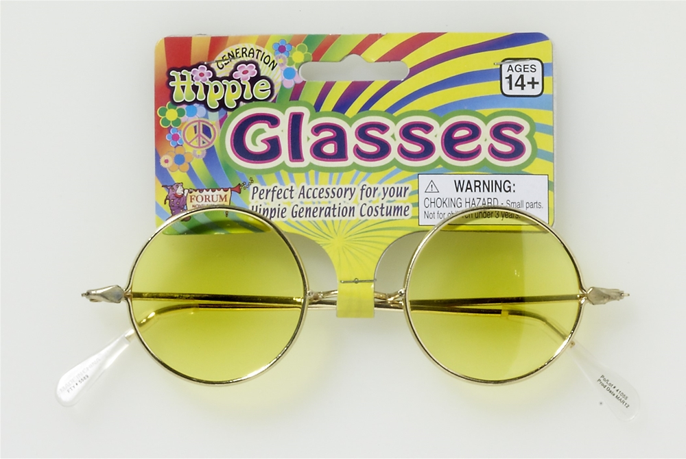 John Lennon Yellow Glasses