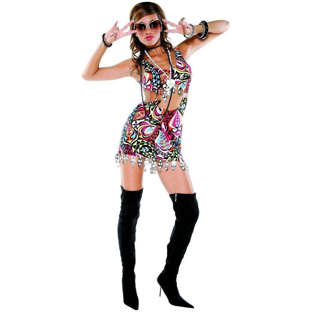 Miss Mod Retro Adult Womens Costume