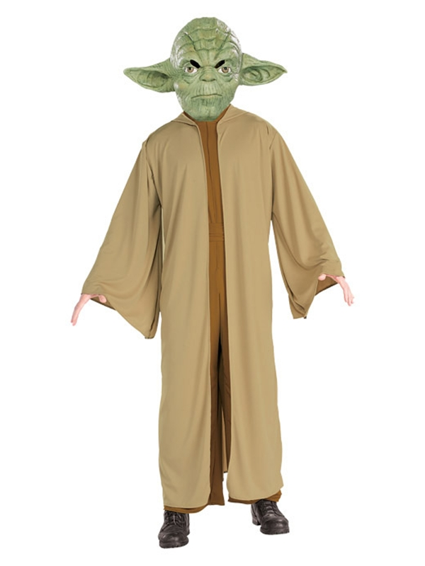 Star Wars Yoda Plus Size Adult Mens Costume