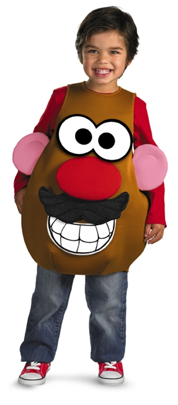 Potatohead Deluxe Unisex Child Costume