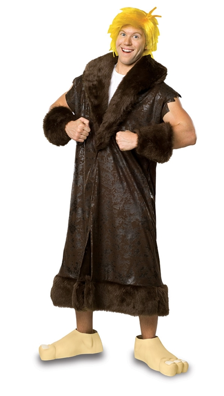 Barney Rubble The Flinstones Adult Mens Costume