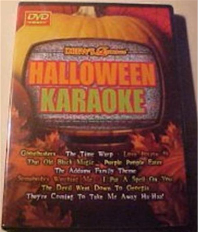 Halloween Karaoke DVD