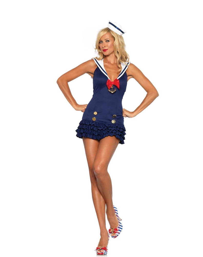 Sweetheart Sailor Adult Womens Costume by Leg Avenue