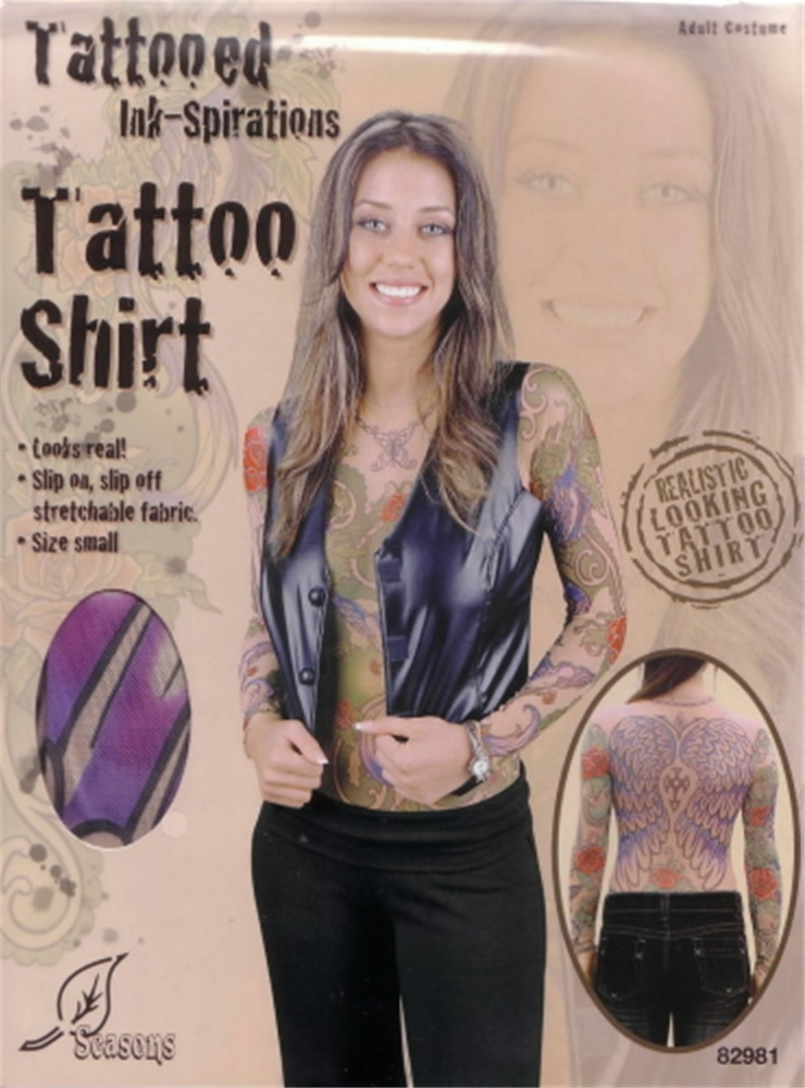 Tattoo Adult Womens Shirt