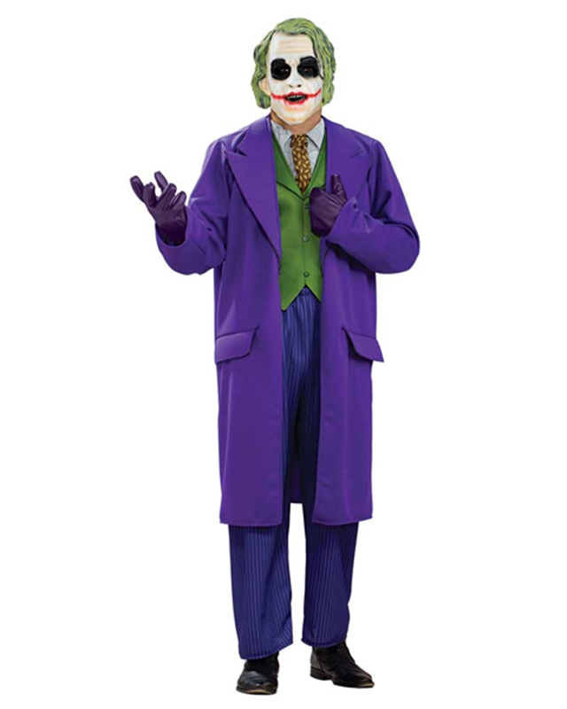 Joker Deluxe Plus Size Adult Mens Costume