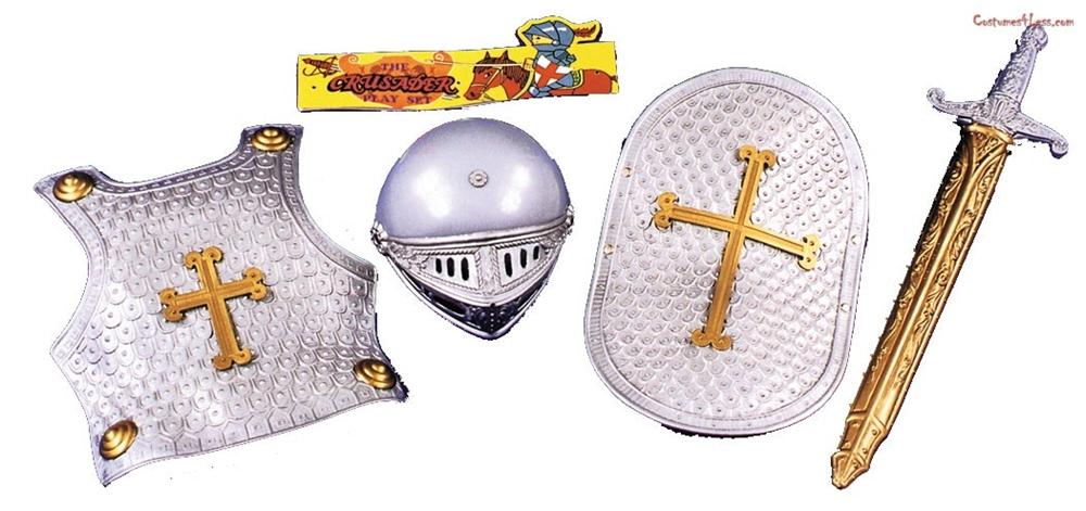 Crusader Child Playset Costume