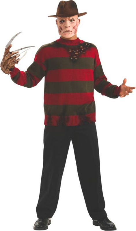 Freddy Krueger Plus Size Adult Mens Costume by Rubies