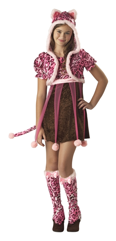 Kutie Kitten Tween Costume