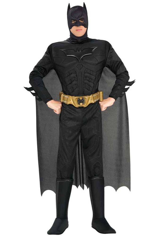 Batman Muscle Chest Deluxe Adult Mens Costume