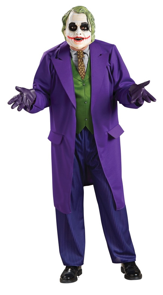 The Joker Deluxe Adult Mens Plus Size Costume 17499