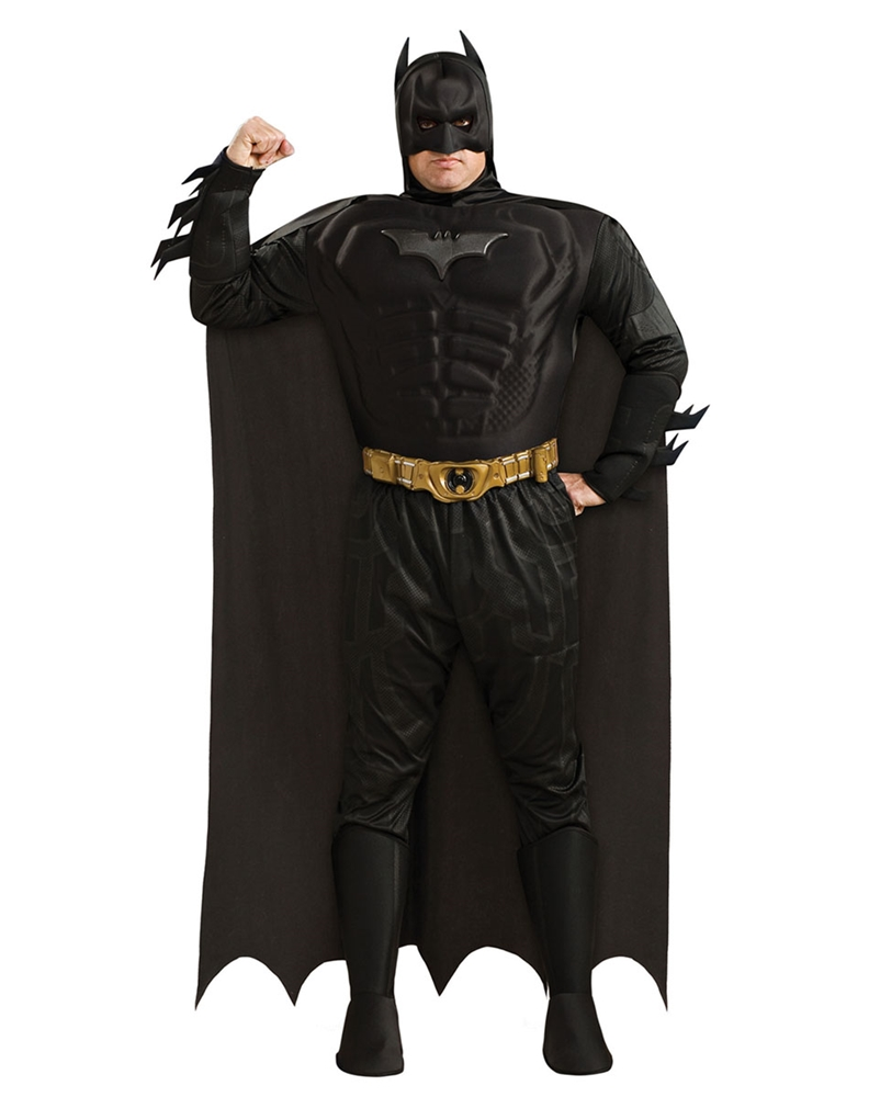 Batman The Dark Knight Deluxe Adult Mens Plus Size Costume