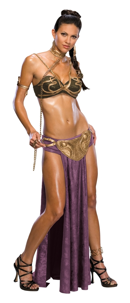 Star Wars Sexy Princess Leia Slave Adult Womens Costume