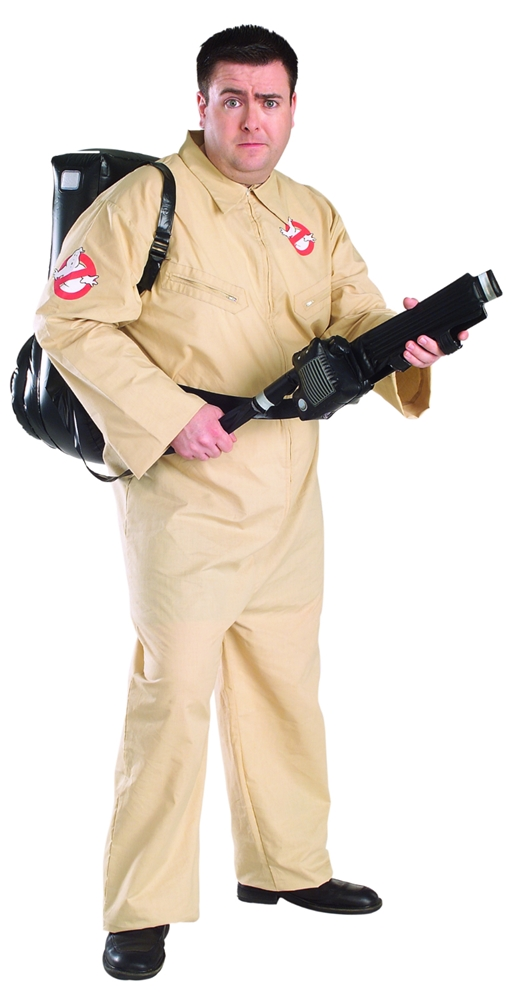 [Ghostbusters Adult Mens Plus Size Costume] (Ghostbusters Plus Size Costumes)